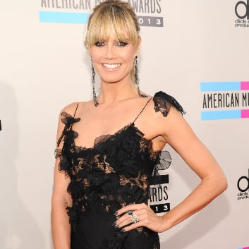 Heidi Klum Dress at American Music Awards 2013