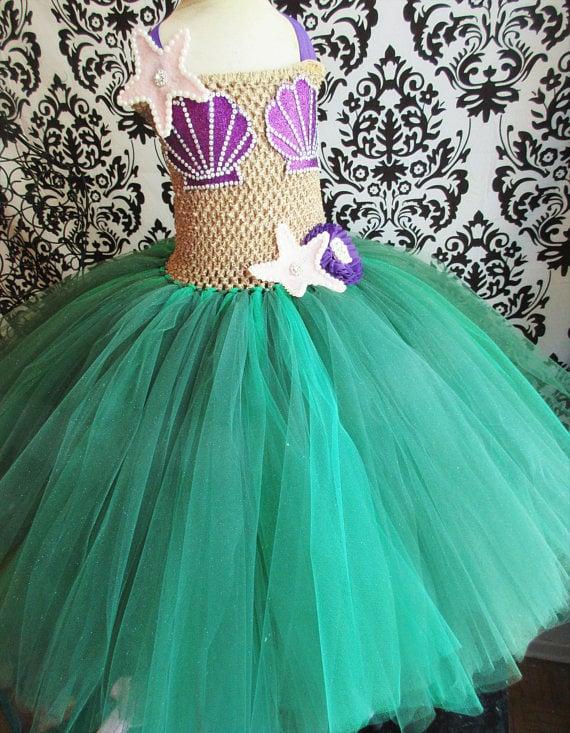 Little Mermaid Costume | Mermaid Halloween Costumes For Kids ...