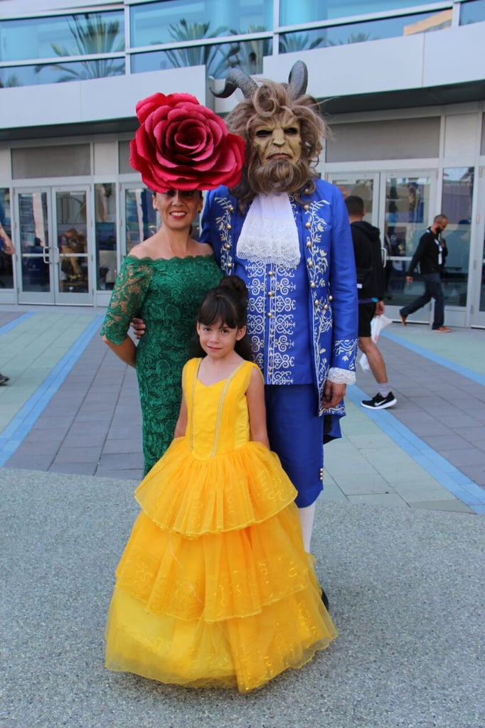 The Enchanted Rose, Belle, and the Beast — Beauty and the Beast