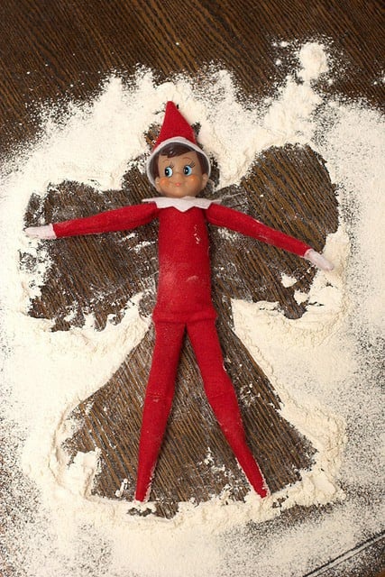 Snow Angel Elf
