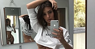 Emily Ratajkowski's Bikini Bottom Gets Even More Revealing When You See the Reflection in the Mirror