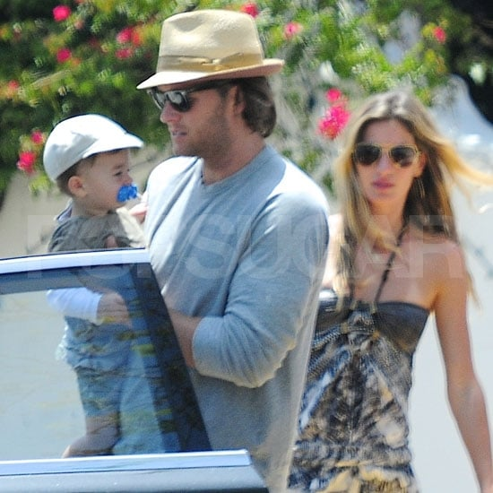 Gisele Bundchen Pictures With Tom Brady and Benjamin Brady