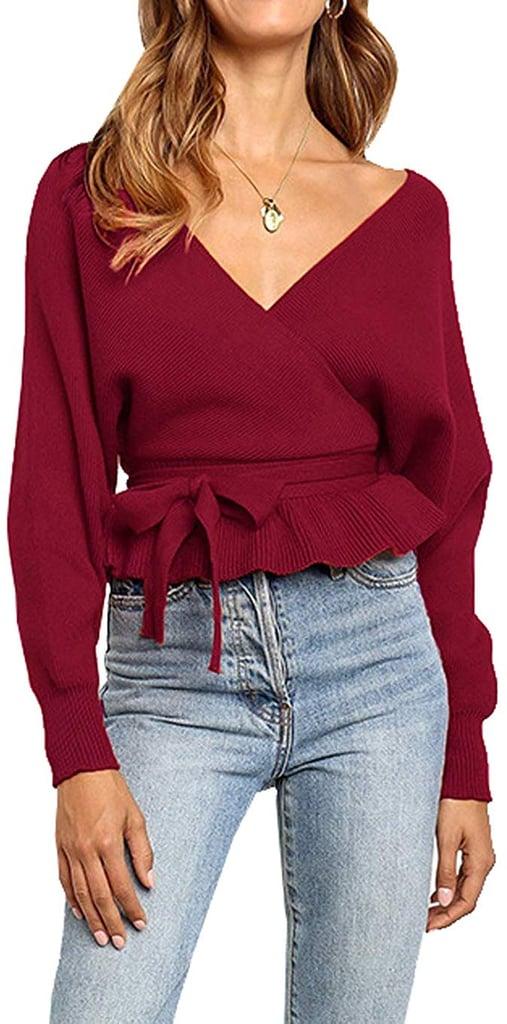 R.Vivimos Wrap Sweater