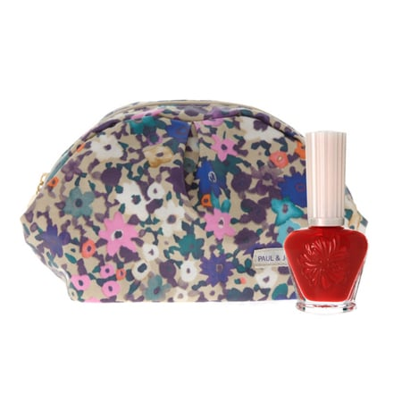 Paul & Joe Nail Enamel and Cosmetic Bag, $22.82
