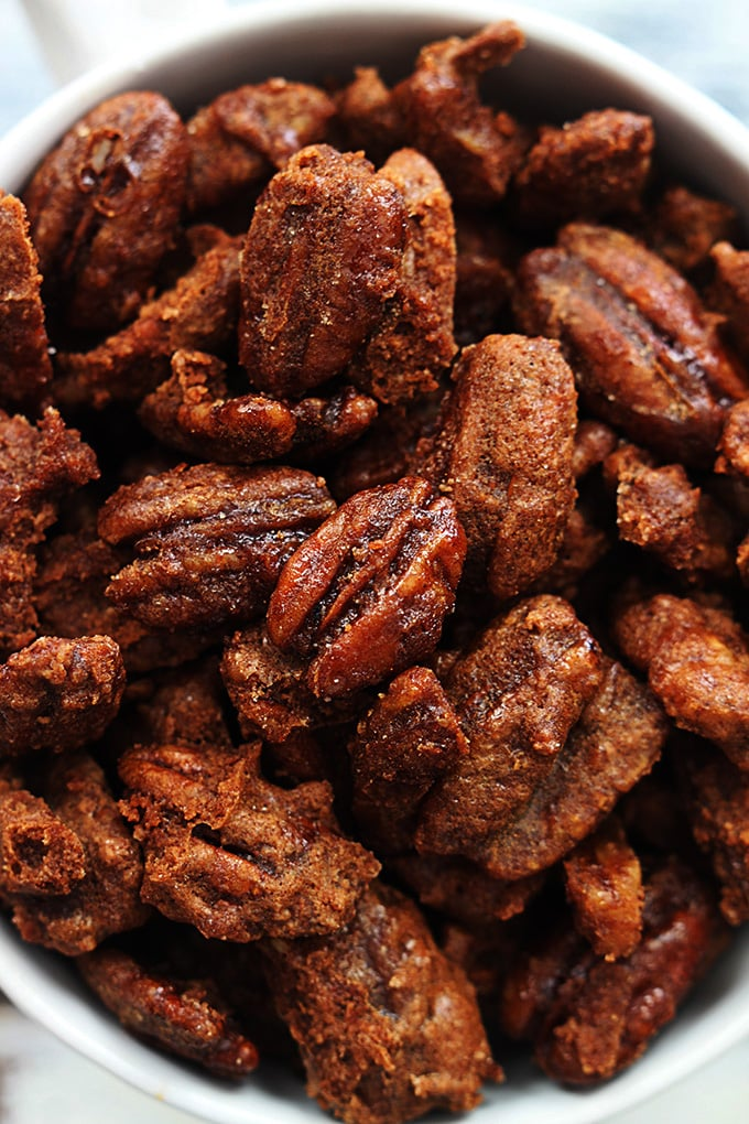 Slow-Cooker Cinnamon Pecans