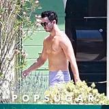 Joe Jonas and Sophie Turner at Wedding Venue Pictures