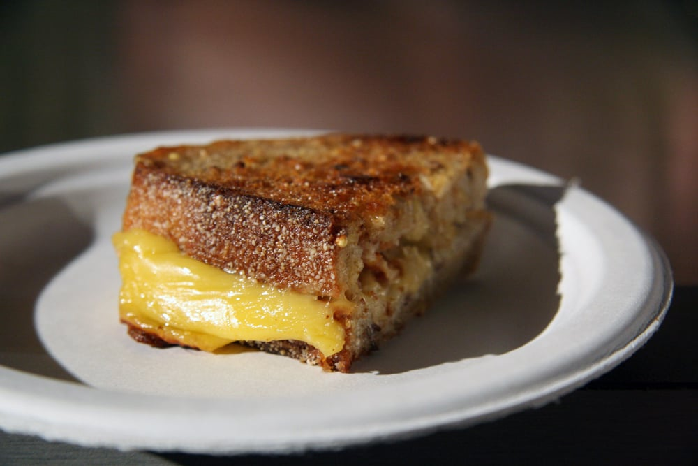 Black Bear Emmenthaler Grilled Cheese