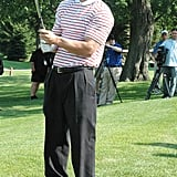 Mark Wahlberg participated in Joe Pesci's June 2006 Celebrity Skins Game in New Jersey.