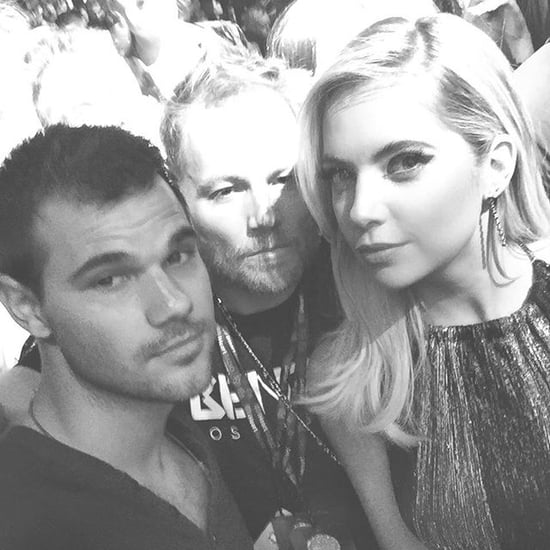 Ashley Benson's Instagram Picture With Taylor Lautner