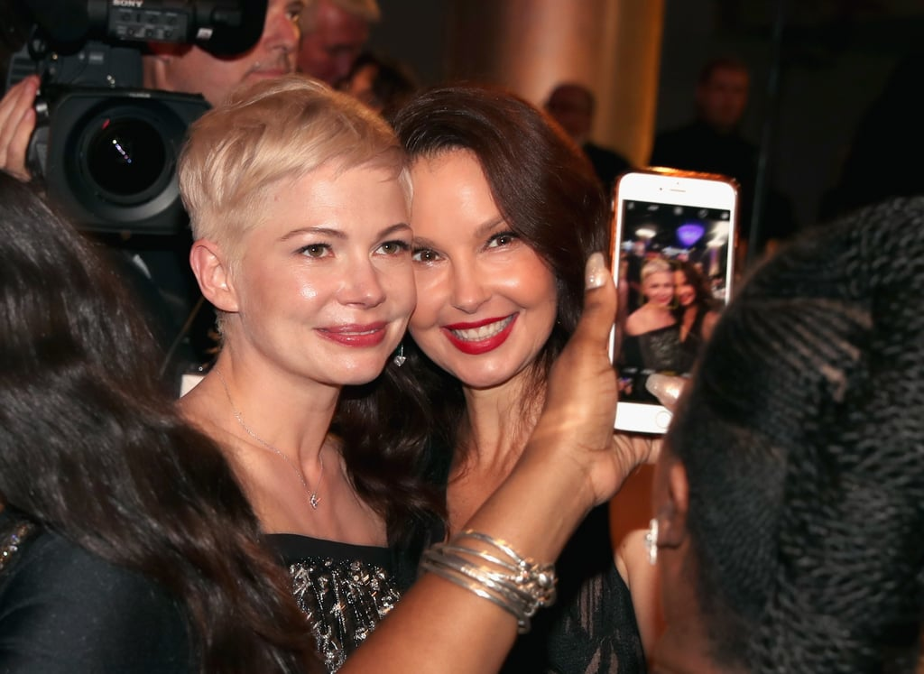 Pictured: Michelle Williams and Ashley Judd