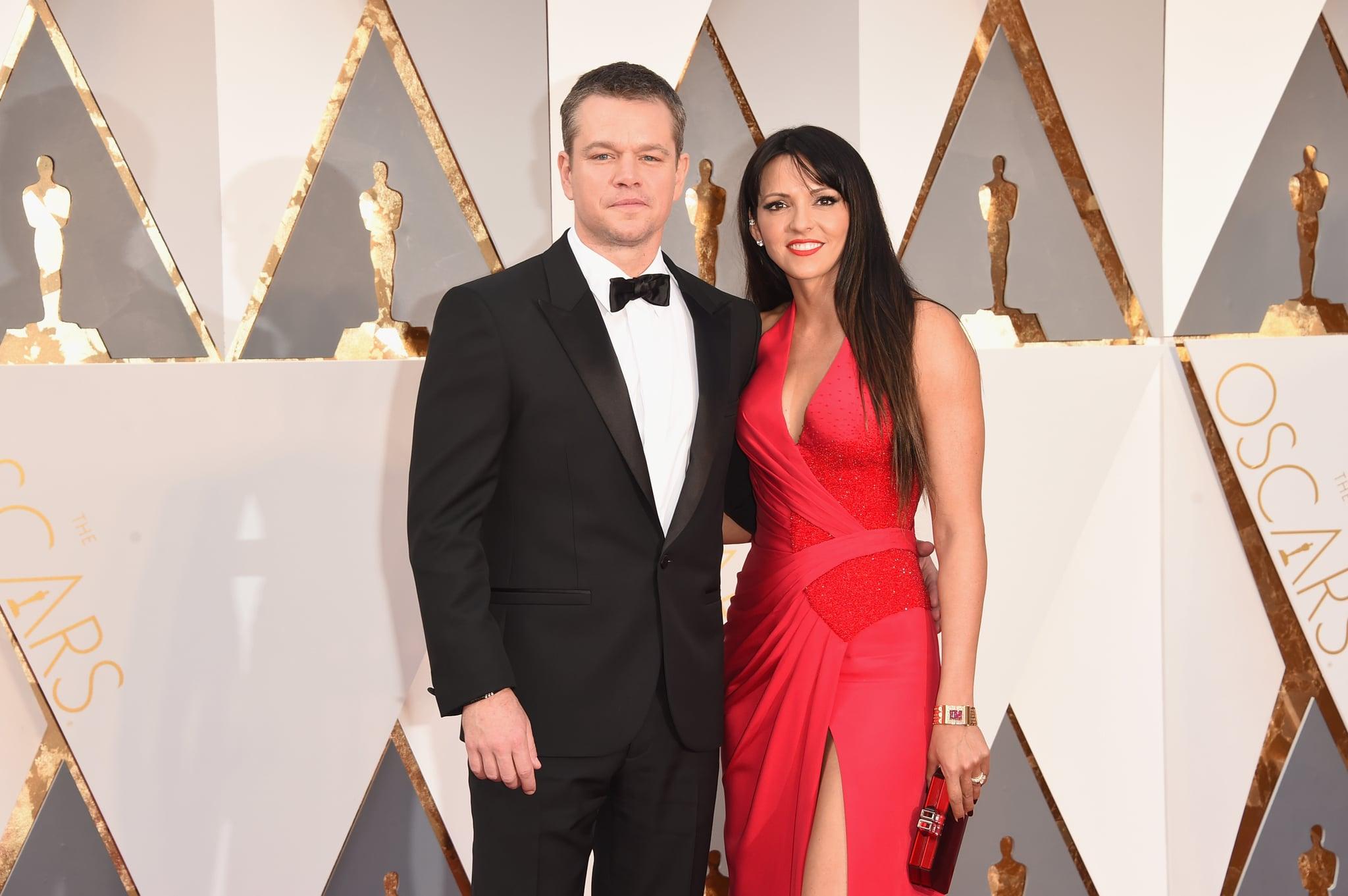 How Did Matt Damon Meet His Wife? | POPSUGAR Celebrity