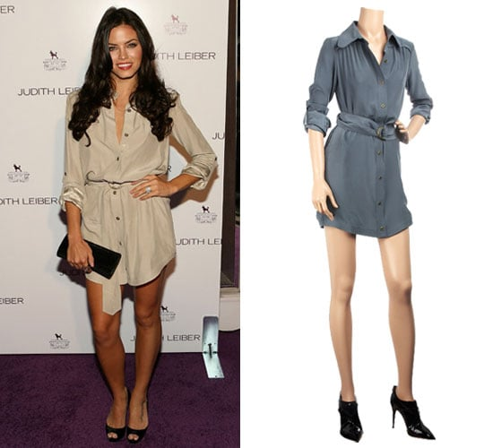 Photo of Jenna Dewan Wearing Shirtdress at Judith Leiber Party in LA