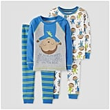 Superhero Monkey Long Sleeve Cotton Pajama Set