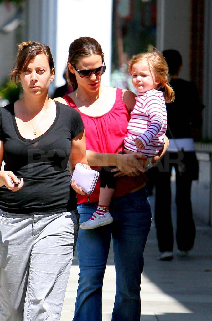 Jennifer Garner and Seraphina Have Some Face-to-Face Fun