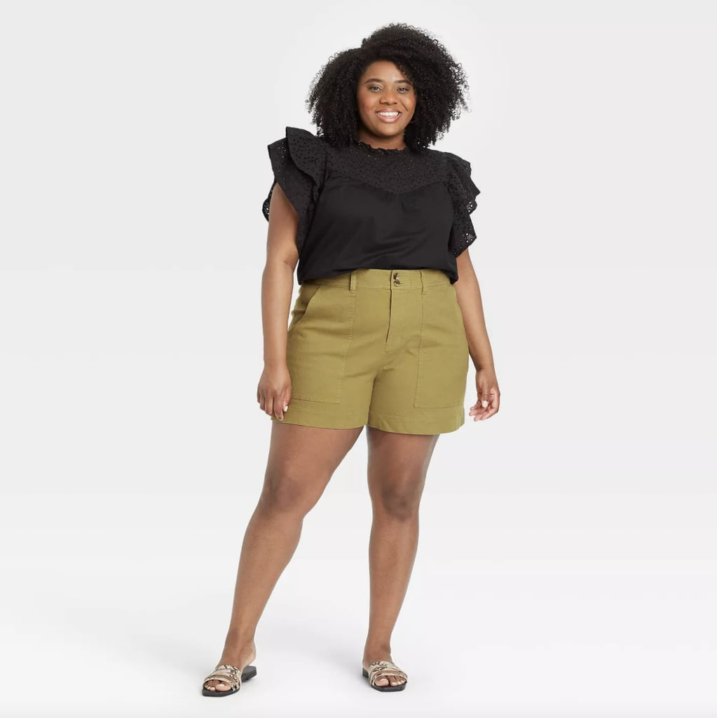 Stylish Plus-Size Shorts
