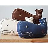 Whale Pillows
