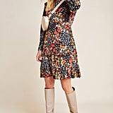 Adrienne Ruffled Mini Dress