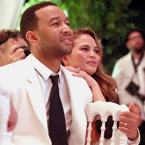 Get Details on Chrissy Teigen's Cushion-Cut Engagement Ring