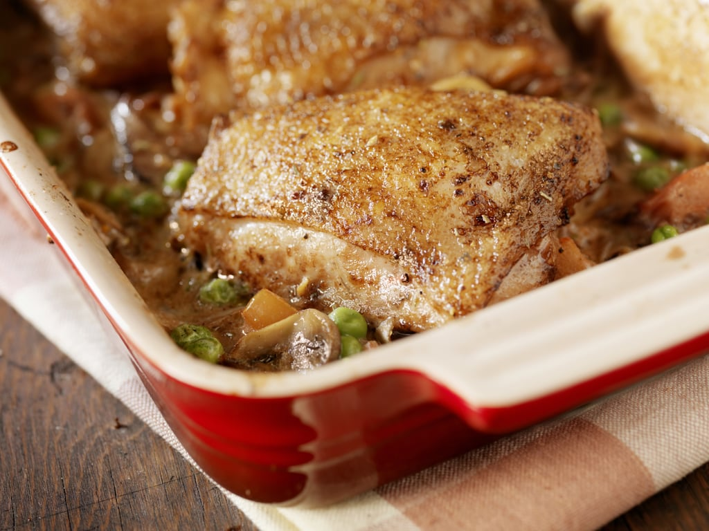 Simple Grilled or Baked Chicken With Seasoning