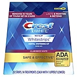 Crest 3D White Glamorous White Whitestrips Dental Teeth Whitening Strips Kit