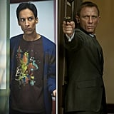 Abed From Community as James Bond