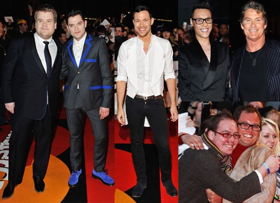 Photos of 2009 Brit Awards Red Carpet Including Mat Horne, James Corden, Will Young, Gok Wan, Alan Carr, David Hasselhoff
