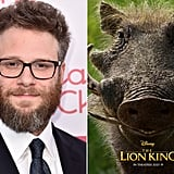 Who Plays Pumbaa in The Lion King Reboot?