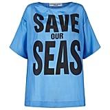 """""""تمدّنا المحيطات بنسبة 98% من الأكسجين، لكنّ الحياة البحريّة تحتضر الآن بسبب التلوث، والتحمّض من ثاني أكسيد الكربون، إلى جانب الإفراط في عمليّات الصيد الجائرة""""."""