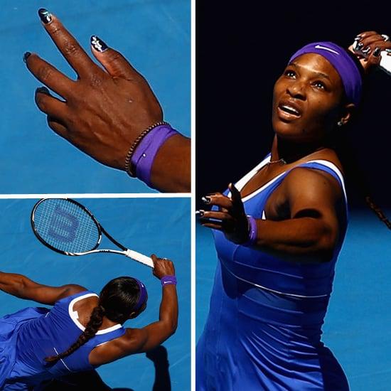 Serena Williams' 2012 Australian Open Manicure