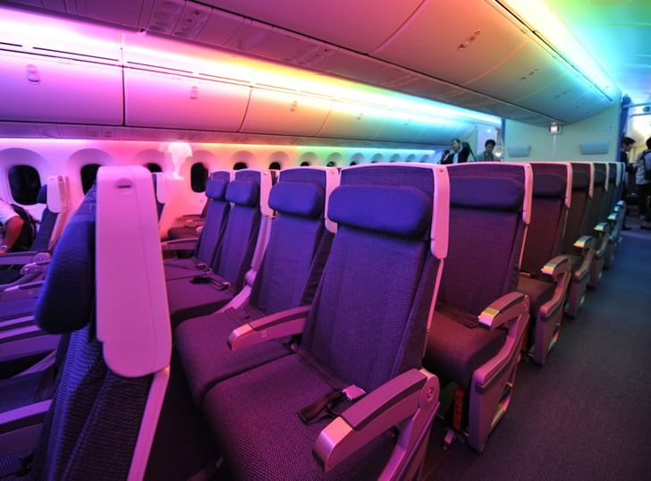 faa case on shrinking airplane seat size and pitch popsugar news. Black Bedroom Furniture Sets. Home Design Ideas