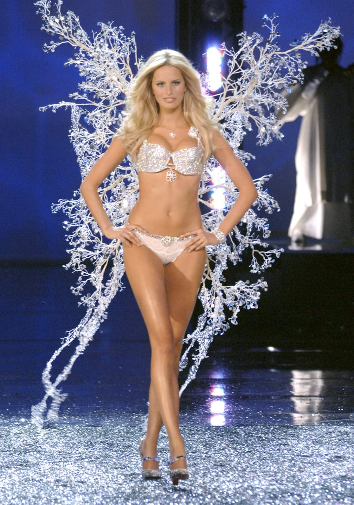 Karolina Kurkova wore icicle-inspired angel wings in 2006.