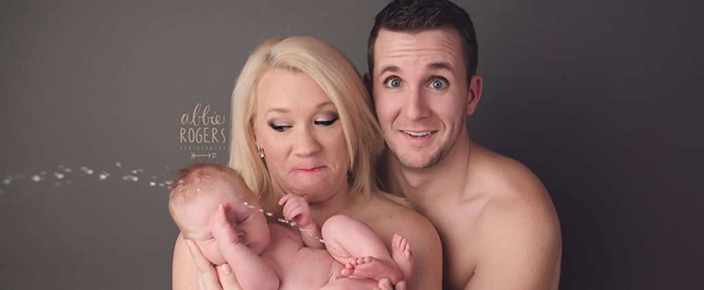 This Hysterical Newborn Photo Proves That Babies Just Don't Care About Your Own Agenda