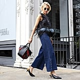 Style Them With Denim Culottes