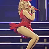 Kylie Minogue continued to defy the laws of time when she performed at the Perth Arena on Saturday. Can you believe she's 46 years old?!