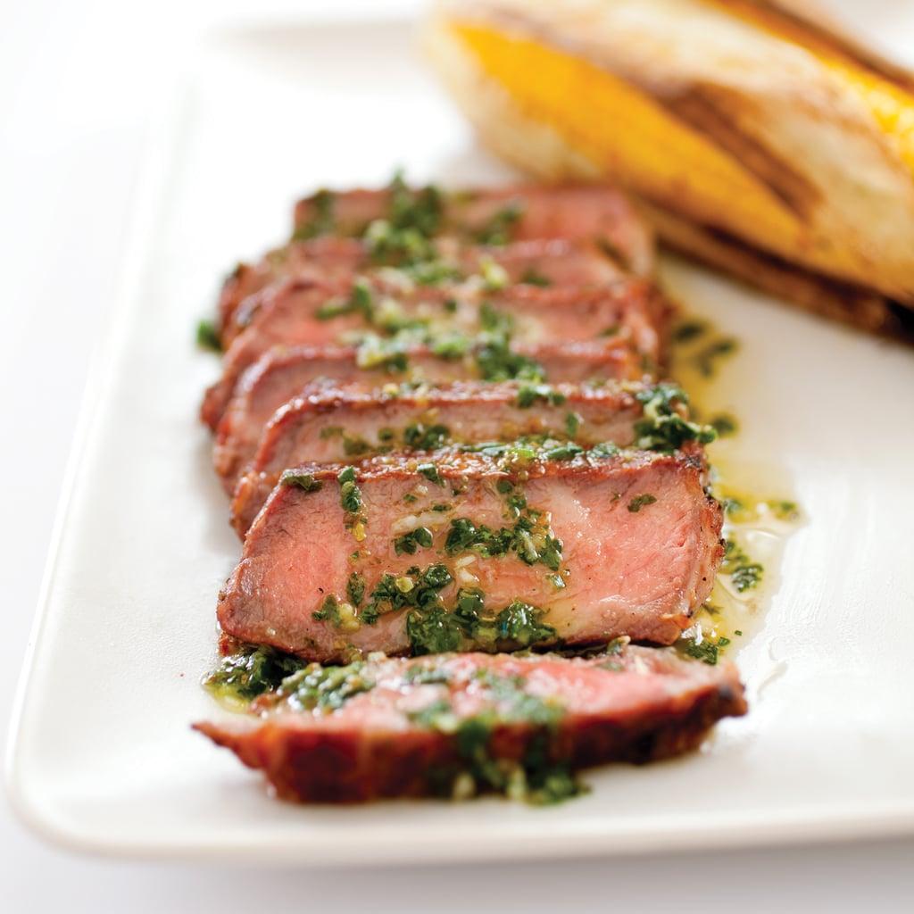 Argentine Steak With Chimichurri