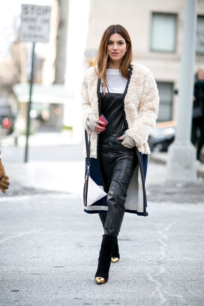 Street Style At New York Fashion Week Fall 2015 Popsugar Fashion Australia Photo 44