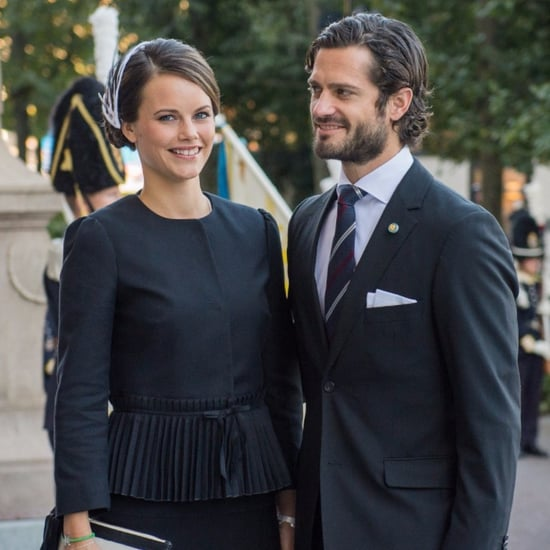 Pictures of Sweden's Prince Carl Philip and Sofia Hellqvist