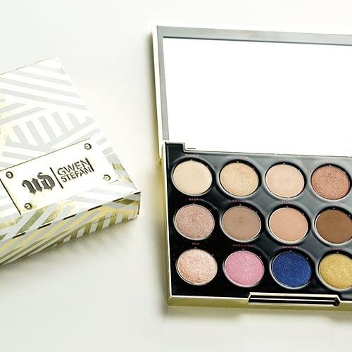 Gwen Stefani Urban Decay Palette Swatches