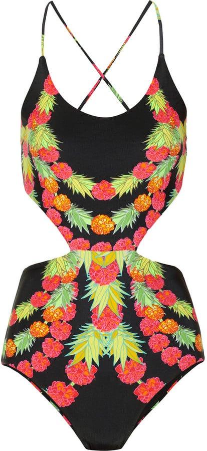 Mara Hoffman Garlands Cutout Swimsuit ($235)