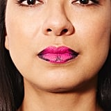 Step 3: Draw an X on the center of your bottom lip.