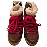 Isabel Marant Etoile Nowles Suede Shearling Boots ($469)