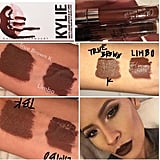 "Desi Perkins, one of the celebrity makeup artists invited to Kylie's lip launch, finally took to her Snapchat to address the speculation, which has since been reshared on Instagram. ""The shades are dupes, VERY SIMILAR! [True Brown K] has brown undertones and [Limbo] has red undertones. But the formulas are VERY DIFFERENT!"" She even went on to rub her swatches, showing how ColourPop crumbled when Kylie's just smudged.  Only those who were lucky enough to score the kit can say whether or not these dupes are truly identical, but while we wait for Kylie to restock her products, we'll definitely be snapping up the ColourPop shades. Read on to shop the products."