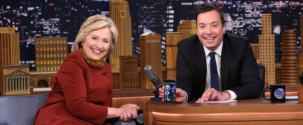 Hillary Clinton Takes Snapchat With Jimmy Fallon