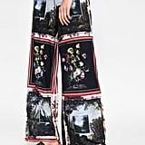 Zara Palazzo Printed Pants