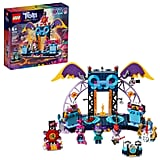 Lego Trolls World Tour Volcano Rock City Concert Set
