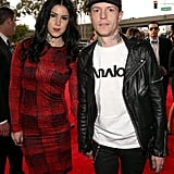 Kat Von D and Deadmau5 headed into the show.