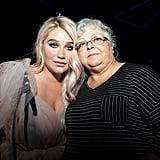 Kesha and Susan Bro
