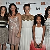 Alicia Silverstone, Jennifer Garner, Olivia Wilde, Yara Shahidi, and Ashley Greene came out to support their movie, Butter, at the Toronto Film Festival.