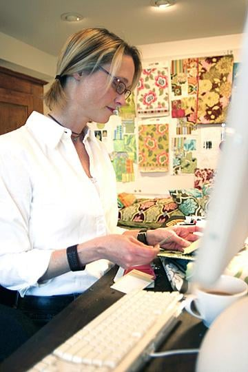 Coveted Crib: Amy Butler's Studio