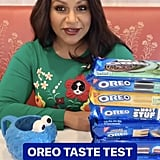 The Official Judges' Table — Mindy and All Her Oreos